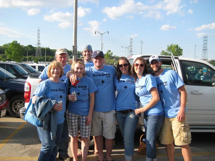 Milwaukee Brewers Game   May 30, 2009 T-Shirt Photo