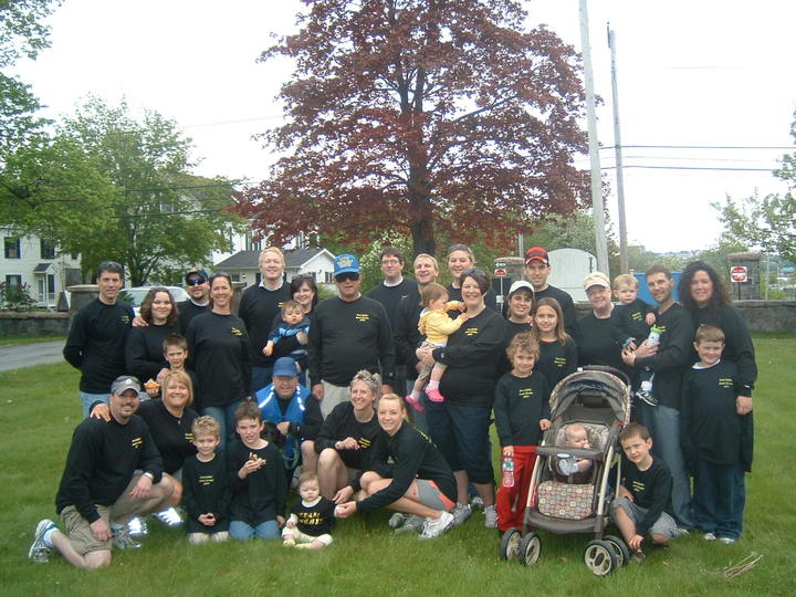 Gabriella's Hope Great Strides Portland Maine T-Shirt Photo