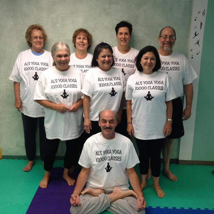 10,000 Yoga Class T-Shirt Photo