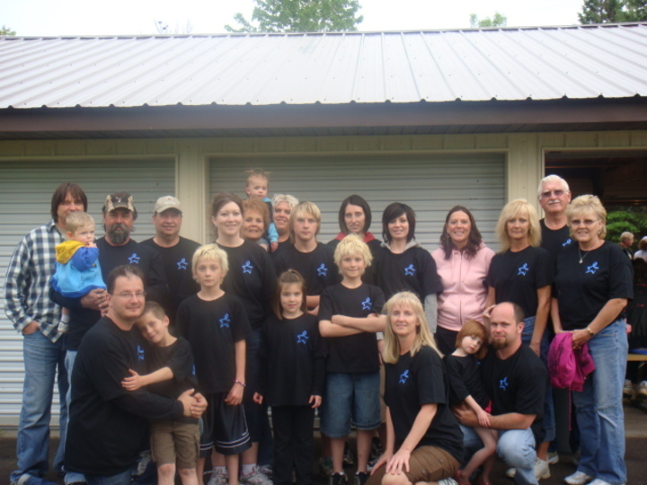 Cancer Walk For Jerry T-Shirt Photo