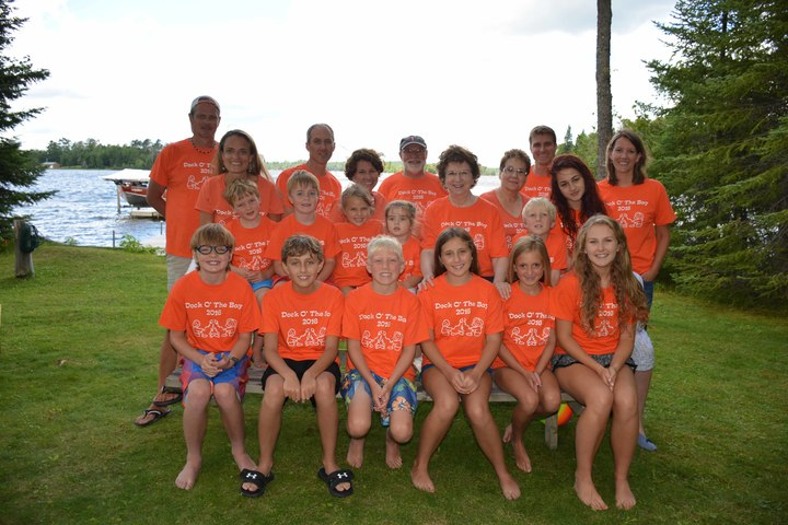 Dock O' The Bay Family Reunion   Plus 2! T-Shirt Photo