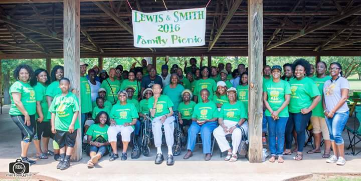 Lewis And Smith Family Reunion T-Shirt Photo