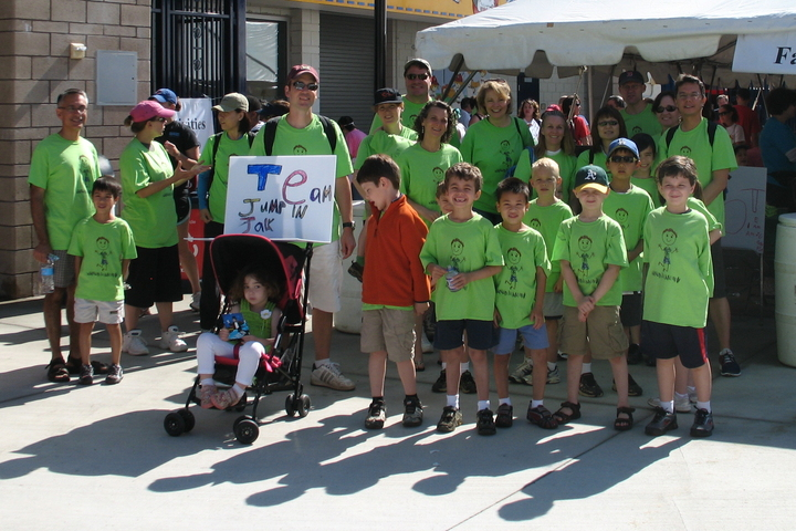 On A Walk To Find A Cure For Diabetes! T-Shirt Photo