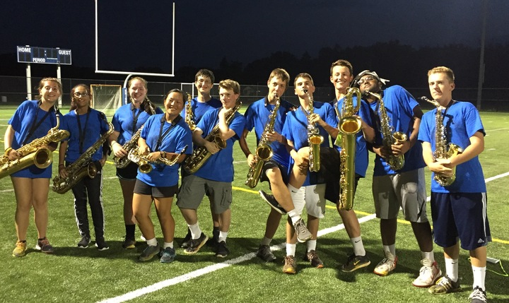 2016 Marching Knights Saxophones T-Shirt Photo