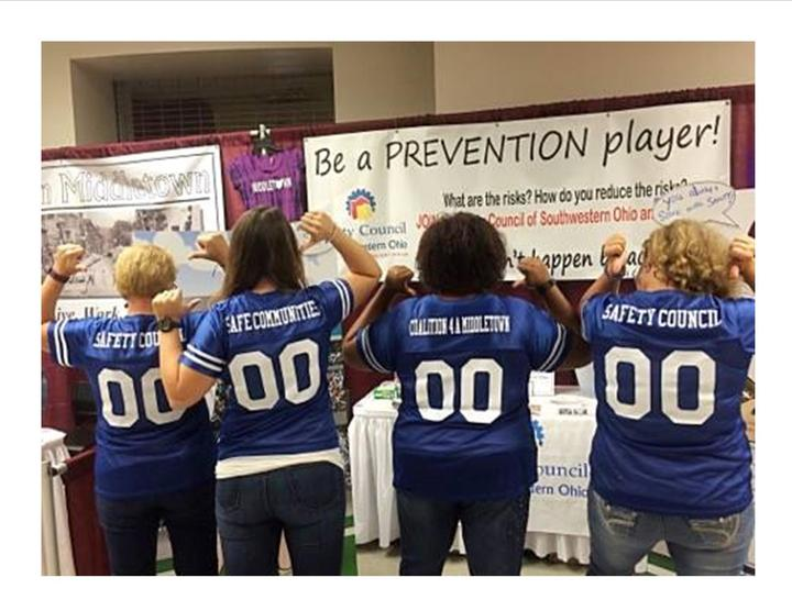 Prevention Players Safety Council Of Sw Ohio T-Shirt Photo