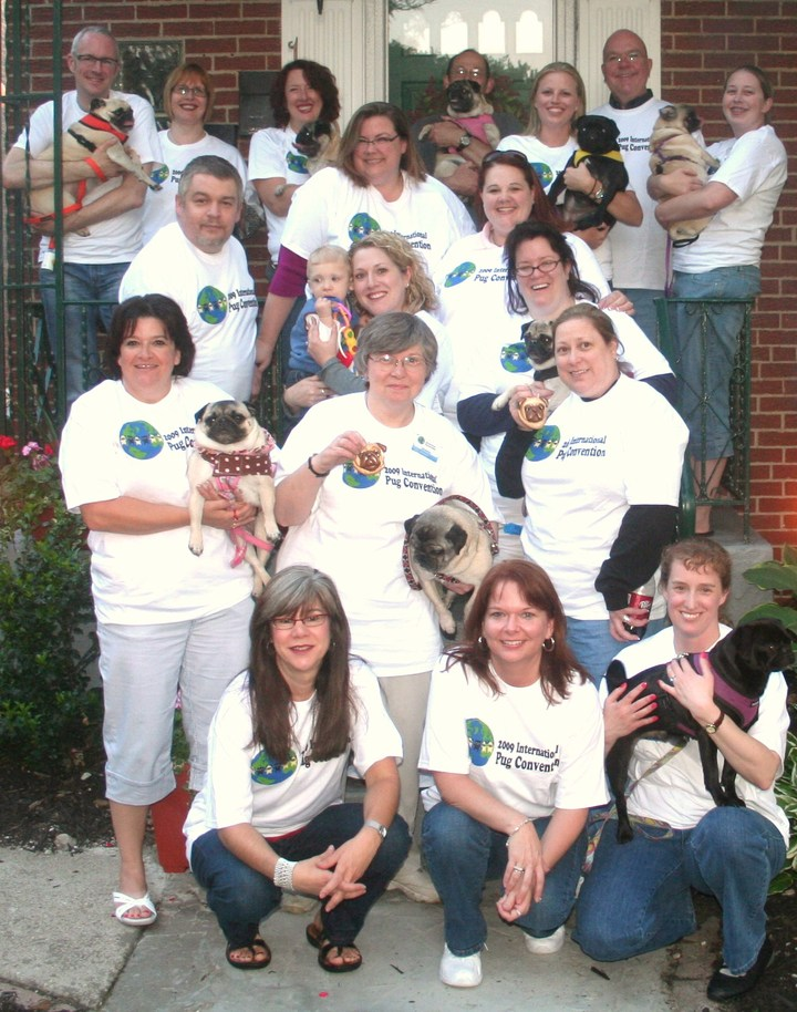 2009 International Pug Convention T-Shirt Photo
