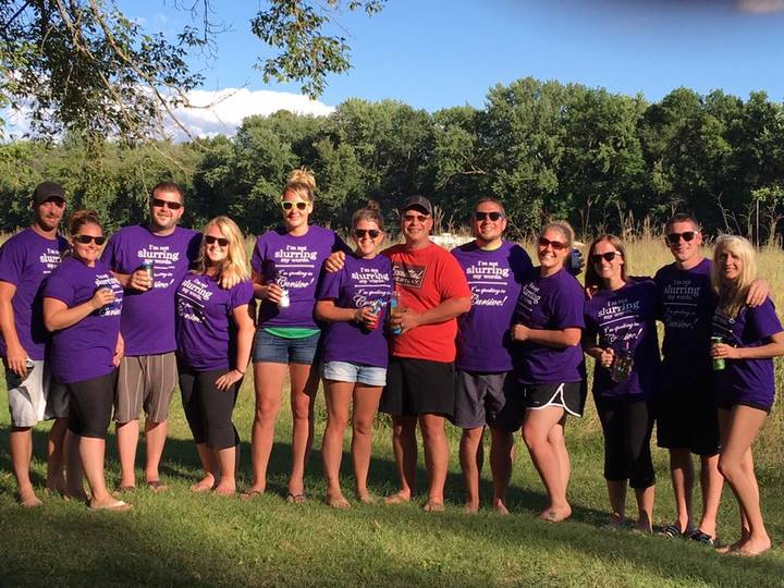 Annual College Camping Reunion T-Shirt Photo