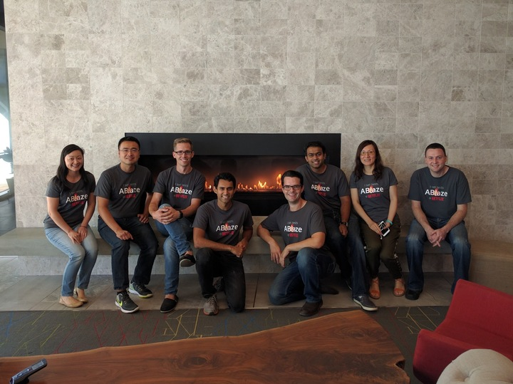 The Team Is On Fire! T-Shirt Photo