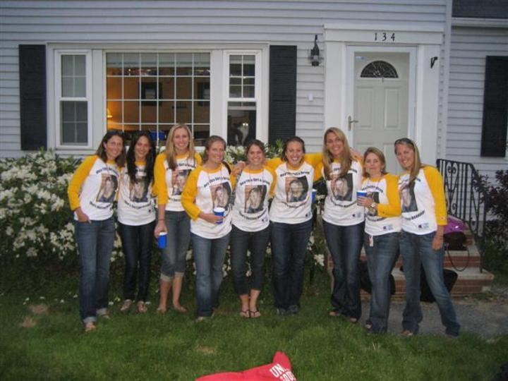 Mariah Daly's Bachelorette Celebration T-Shirt Photo