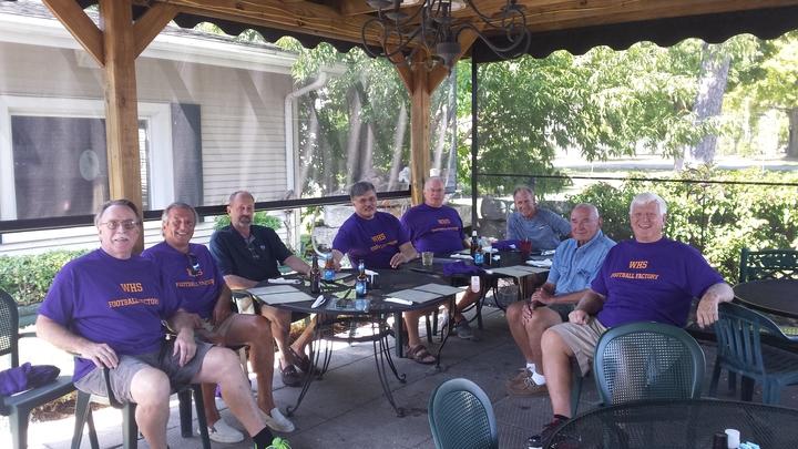 Reunion With Coach T-Shirt Photo
