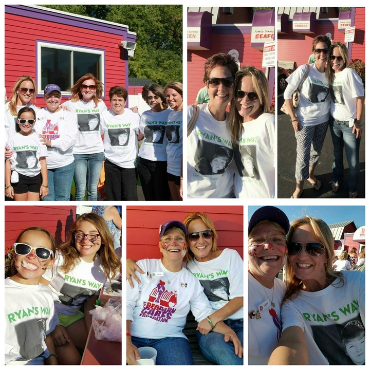 Ryan's Way & Red Barn Cares T-Shirt Photo