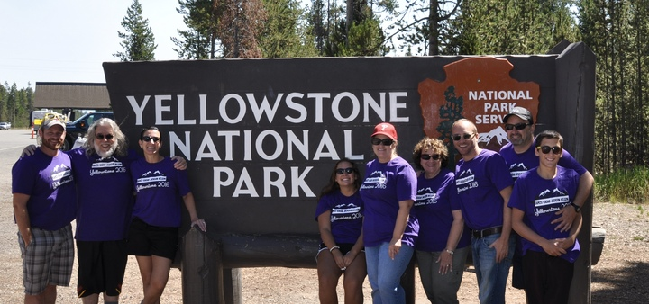Kagan Family Yellowstone Adventure T-Shirt Photo