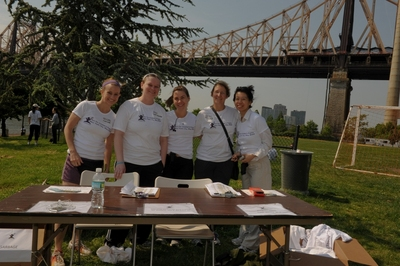 Run For Children's Rights On Roosevelt Island, New York T-Shirt Photo