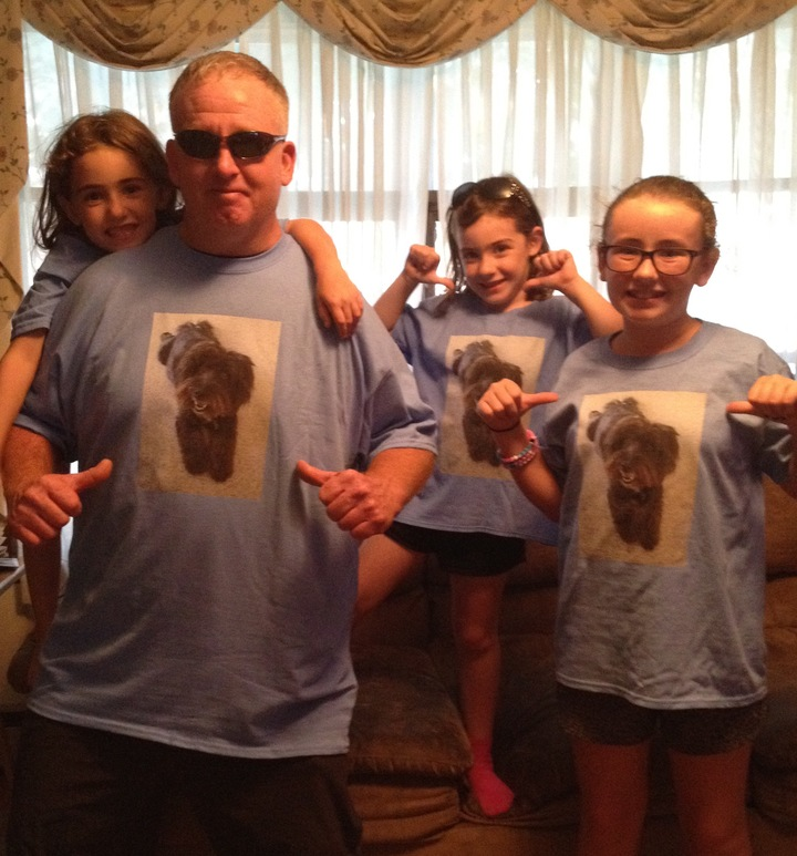 The Fuzzy Dude Gangsters T-Shirt Photo