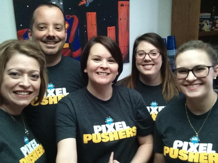 Pixel Pushers T-Shirt Photo