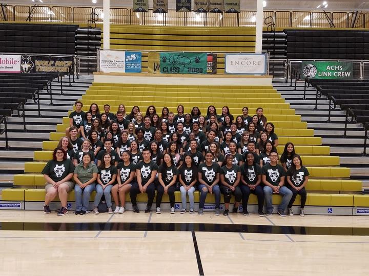Achs Link Crew 2016 Freshmen Orientation T-Shirt Photo