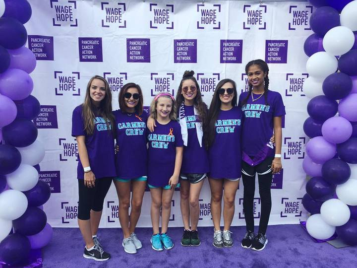 Purple Stride Charlotte 2016 T-Shirt Photo