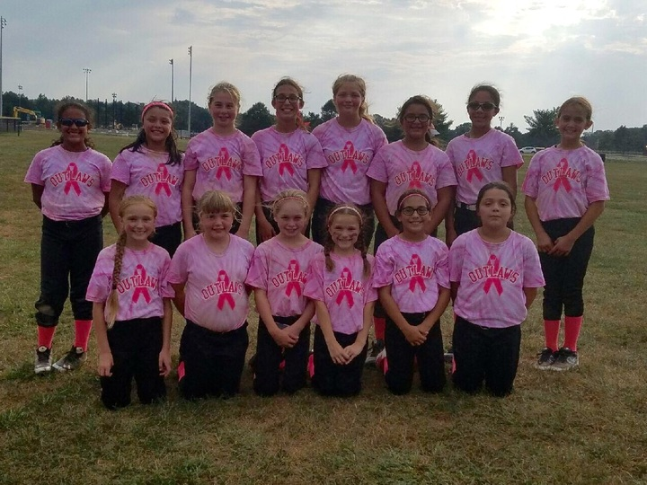 Outlaws Play For Pink T-Shirt Photo