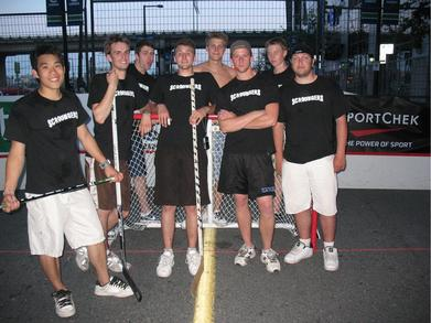 Hockey Tournament Team T-Shirt Photo