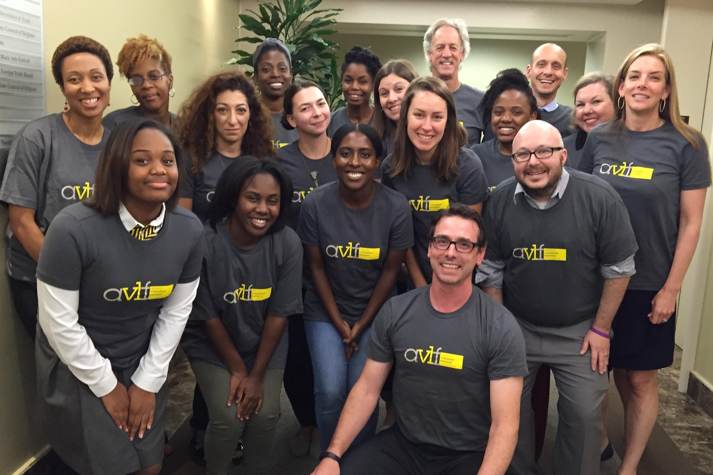 Custom T Shirts For Atlanta Volunteer Lawyers Foundation Staff