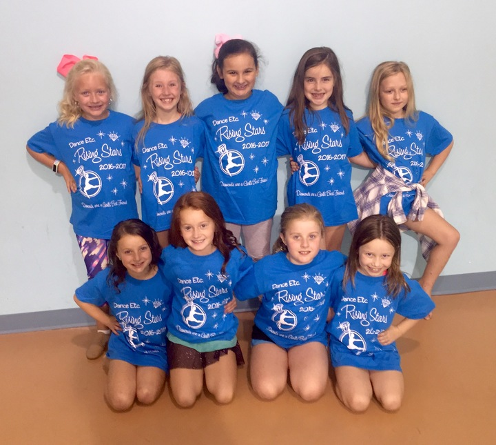 Dance Etc Rising Stars Dance Team T-Shirt Photo