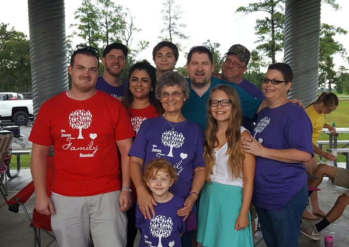 Jones Family Reunion 2016 T-Shirt Photo
