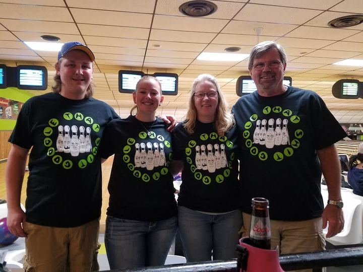 Bowling Team T-Shirt Design Ideas - Custom Bowling Team Shirts ...