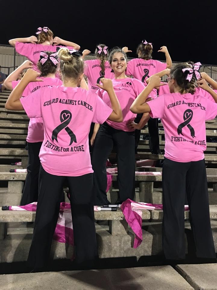 Mac Arthur Guard Against Cancer T-Shirt Photo