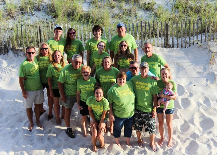 Cheeseheads In Paradise T-Shirt Photo