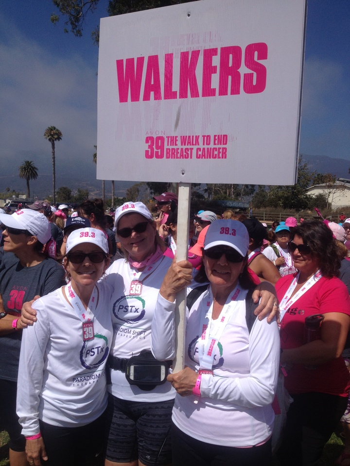 Team Ps Tx Raised Over $12,000 For The Avon Walk To End Breast Cancer T-Shirt Photo
