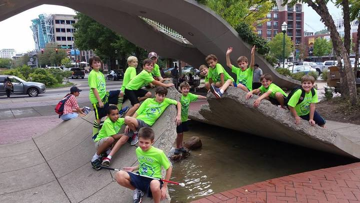 Pack 199 Cub Scouts Visiting The Tennessee Aquarium In Chattanooga, Tn  T-Shirt Photo