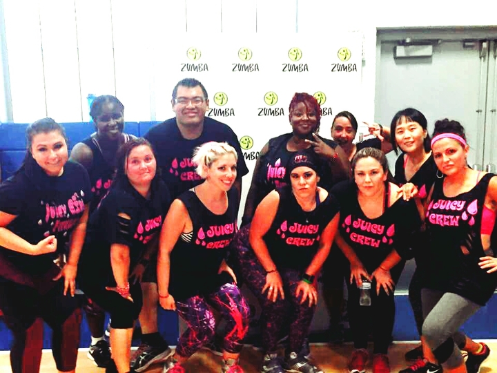 "Juicy Girl Crew ""We Sweat Awesome "" T-Shirt Photo"