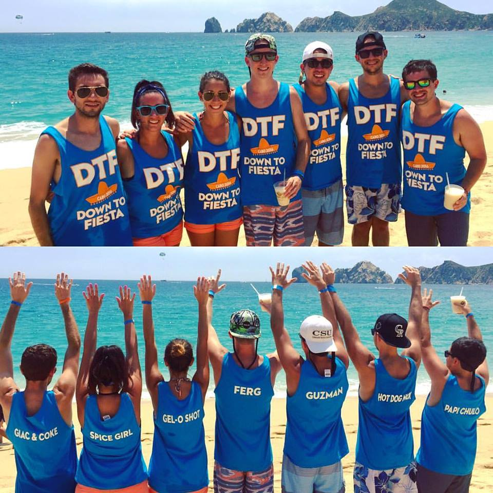Custom T-Shirts For Dtf: Down To Fiesta