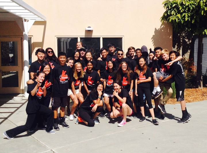 Westview Gold Clarinets Sporting Their Carmen T Shirts T-Shirt Photo