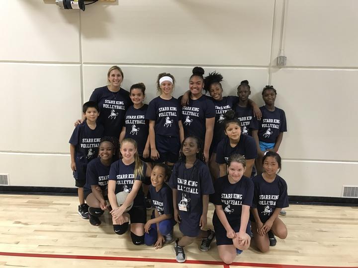 Starr King Volleyball Girls  T-Shirt Photo