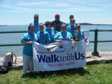 Walk For Lupus Research T-Shirt Photo