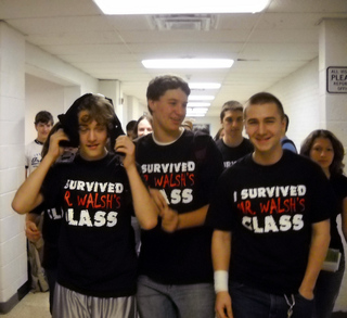We Survived! T-Shirt Photo