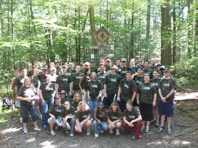 Arcus Walks The Appalachian Trail! T-Shirt Photo