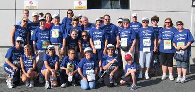 Team Nf At Survivor Harbor 7 Race T-Shirt Photo