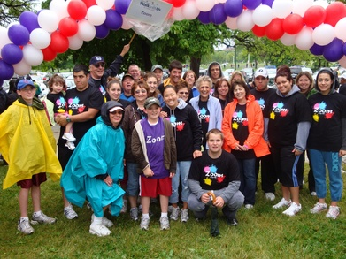 Team Zoom At The Lupus Walk T-Shirt Photo