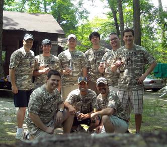 Man Camp 2009 T-Shirt Photo