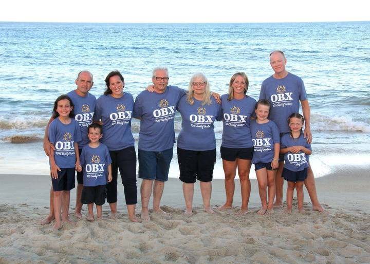Grandma Gramps Turn 70 In Obx T Shirt Photo