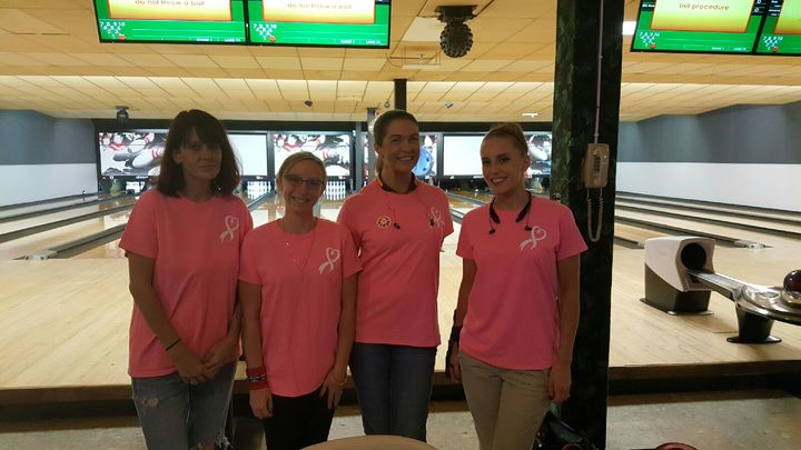 Kim's Angels Bowling In Remembrance  T-Shirt Photo