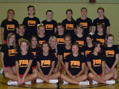 Fenwick High School Cheerleaders T-Shirt Photo