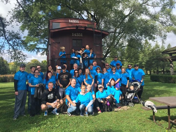 Caits' Crew  Jdrf Walk  T-Shirt Photo