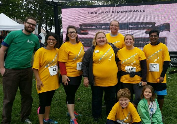 Team Finnspiration @ The Race For Hope Philadelphia 2016 T-Shirt Photo