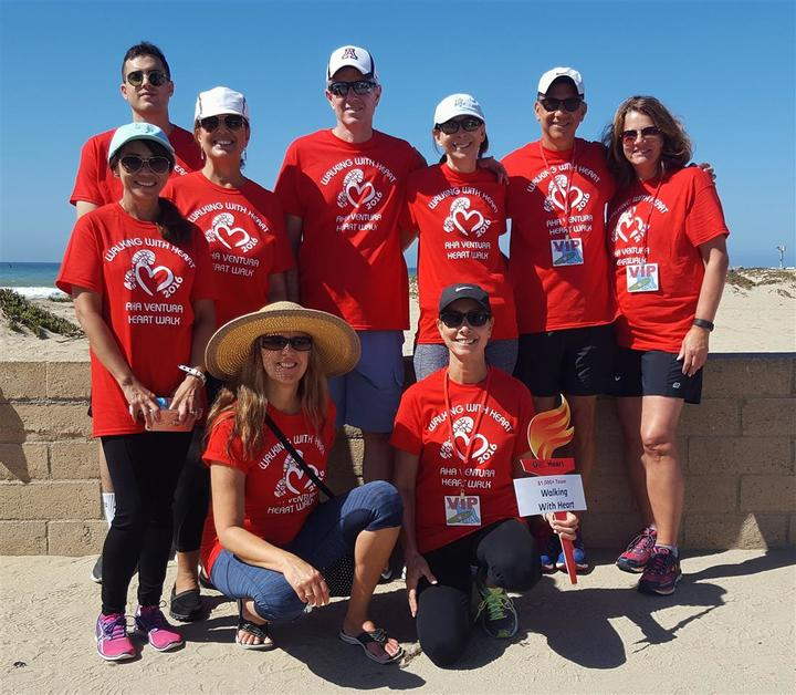 "Team ""Walking With Heart"" T-Shirt Photo"