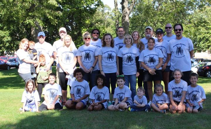 Hayden's Heroes T-Shirt Photo