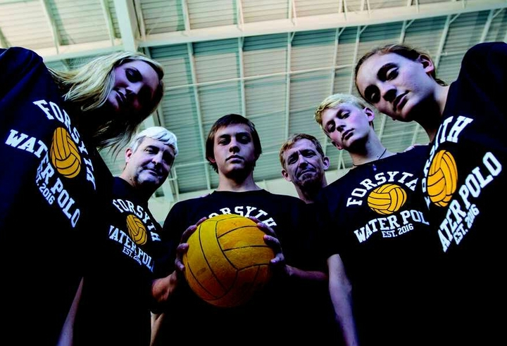 Forsyth Water Polo Captains T-Shirt Photo