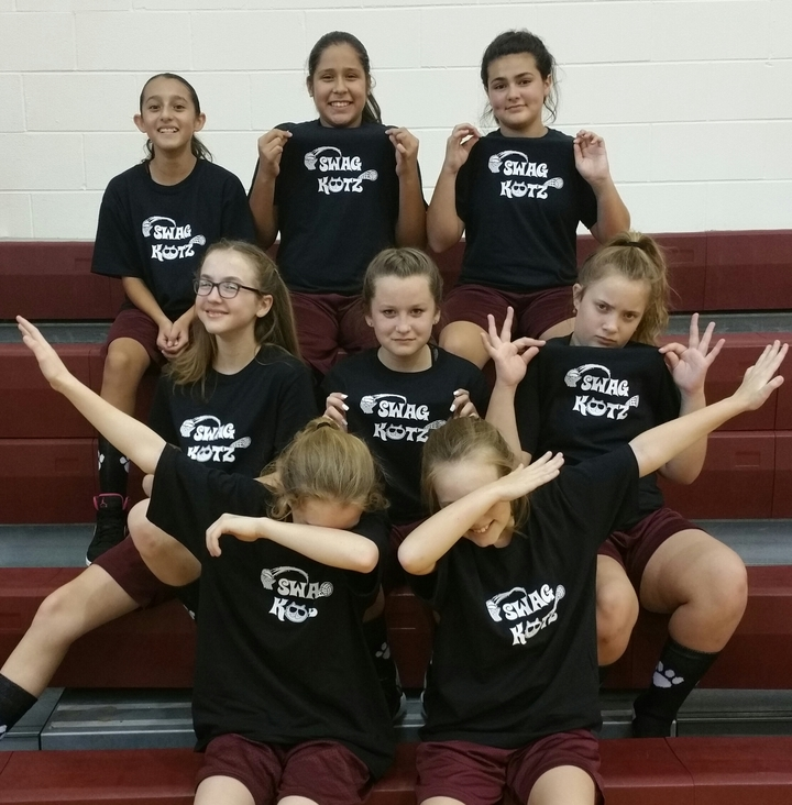 Swag Katz Basketball Team T-Shirt Photo